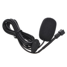 New Stereo Car Audio External Microphone Mic For Car DVD Player for GPS Navigation Wired Mini Mic 3 meters long cables