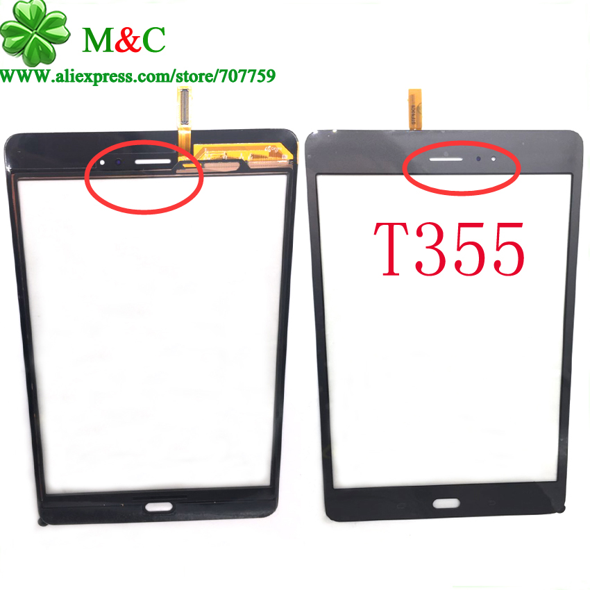 10pcs Original T350 T355 Touch Panel For Samsung Galaxy Tab A 8.0 SM-T350 T350 T355 Touch Screen Digitizer Panel With Tracking<br><br>Aliexpress