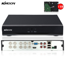 KKmoon 8CH Full 960H/D1 DVR HVR NVR  with 1TB Seagate HDD HDMI P2P H.264 Onvif 8CH DVR Recorder for CCTV Security Camera System