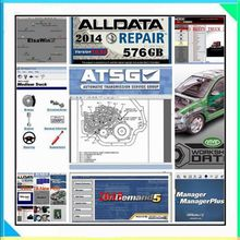 Alldata Software 2017 auto repair software alldata and mitchell software mitchell ondemand 2015 vivid workshop data 49in 1tb hdd(China)