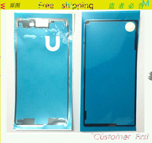 2PCS/Set Original New Front LCD Frame+Back Battery Cover Sticker Adhesive Glue Tape For Sony Xperia M4 Aqua housing