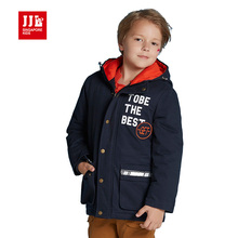 boys hooded coat kids winter outwear boy parka outdoor wear children kids clothes boys clothing warm 2016(China)