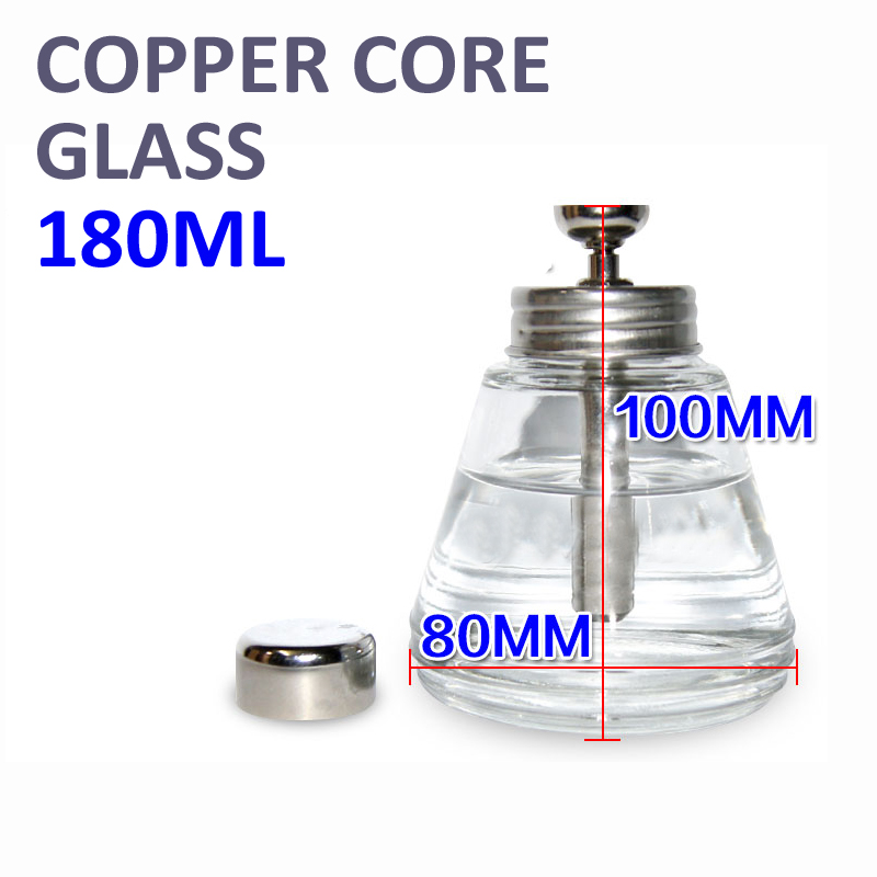 Thickened Pressing type Glass copper core Flux Alcohol bottle Cleaning tool Corrosion proof Wash plate water bottle<br><br>Aliexpress