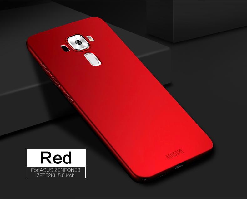 "Asus Zenfone 3 ZE552KL Case Hard Back Luxury Full Cover PC Plastic Mofi Original Phone Case For Asus Zenfone 3 ZE552KL 5.5"" 12"