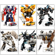 Hot Plastic Kids Transformation Toys g1 Brinquedos Deformation Robot Car Action Figures Classic Toys for Boys Juguetes Gifts Toy(China)