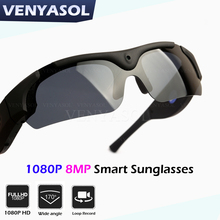 VENYASOL HD 1080P  Glasses Camera Polarized Outdoor Action Sport Video Camcorder DVR DV Mini Driving Sunglasses Cam