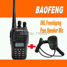 DHL Freeshippi+radio walkie talkie baofeng new  UV-B5,fm radio station,vhf uhf Dual Band,compared alan midland free speaker mic
