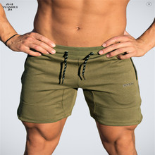 Buy Mens cotton shorts Calf-Length gyms Fitness Bodybuilding Casual Joggers workout Brand sporting short pants Sweatpants Sportswear for $13.29 in AliExpress store
