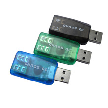USB Sound Card Audio USB 5.1 External Sound Card Adapter Mic Speaker Audio sound card For Laptop computer