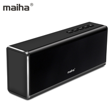 Maiha Wireless Bluetooth Speaker 20W Outputfrom Dual 10W Drivers with Power Bank 4000mah Rechargeable Battery for iPhone Xiaomi(China)