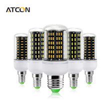 1Pcs Ultra High Luminous Flux 4014SMD E27 E14 38 55 78 88 140 LED Corn lamp Chandelier 220V 110V No Flicker LED Bulbs Spot light
