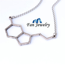 Hot Breaking Bad  Happy hormone, Serotonin Molecules, Happiness Signal, 5-ht Pendant Couple The Best Gift Wholesale XL471