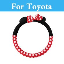 NEW Design Mickey Mouse Accessories Funny Cute Cartoon For Toyota Kluger Land Cruiser Surf IQ Ist Land Cruiser Prado Hilux(China)