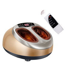 Free Shipping Foot Massage Roller Electric Heating Shiatsu Medialbranch Intelligent Massager Machine Heated Acupressure Tools