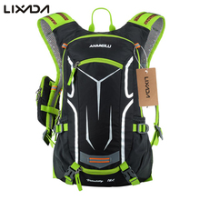 Lixada  Ultralight Outdoor Bicycle Bike Bags Rucksack Backpack Nylon Breathable Cycling Riding Climbing Bag with Rain Cover