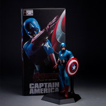 2016 NEW hot 25CM Captain America CRAZYTOY Best action figure toys Cool Christmas gift doll