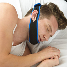 New Anti Snore Chin Strap Stop Snoring Snore Belt Sleep Apnea Chin Support Straps for Woman Man Health care Sleeping Aid Tools