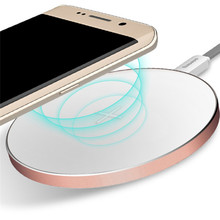 High Efficiency Fast Charge Edition Wireless Charger Power Charging Pad for Samsung Galaxy S7 htc Nokia LG Motorola Huawei(China)