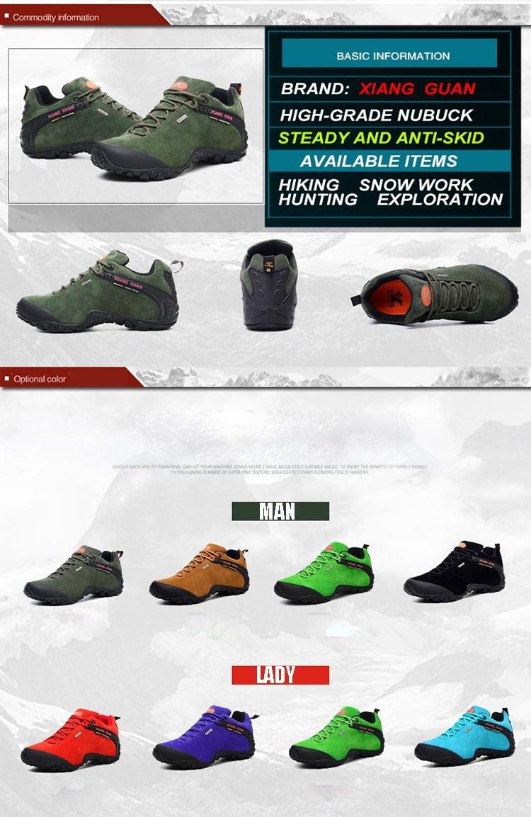 XIANG GUAN Winter Shoe Mens Sport Running Shoes Warm Outdoor Women Sneakers High Quality Zapatillas Waterproof Shoe81285 5