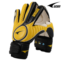 Goalkeeper gloves thickening finger top goalie gloves football gloves vd7002