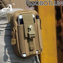 FSSOBOTLUN For Cat S30 S40 S50 S60 Top quality Outdoor Tactical Holster Military Hip Waist Belt Phone Bags(China)