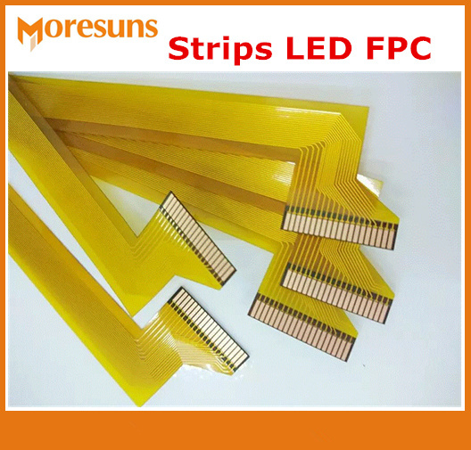 Shenzhen FPC/Flex PCB/Rigid Flex PCB Manufacturer and FPC Strips LED PCB Board FPC for led lights(China)