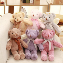 1PC 40CM New Arrival Cute Cartoon Angel Teddy Bear Plush Toy Stuffed Animal Dolls Girl Gifts Valentines Gifts(China)