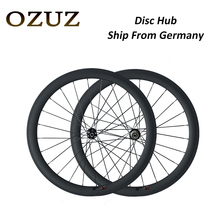 OZUZ Ship From Germany To Avoid Tariffs Disc Brake 700C 38mm 50mm deep Clincher Tubular Carbon Wheels Racing Road Bike Wheelset