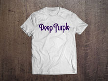 Deep Purple Graphic White Men T-shirt Rock Band Fan Tee Shirt Size S-XXL Sleeves Cotton T Shirt Fashion Summer Style