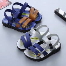 Wholesale Fashion Casual Boy Sandals Korean Style Hot Baby Non-slip Shoes Small Kids Beach Sandals Boys A06191 Children Footwear