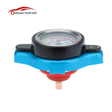 Car Style Thermostatic Radiator Cap Cover with Water Temp Temperature Gauge  for Cars