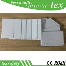 100PCS 125khz EM4305 RFID blank Card white smart card id cards for Access control / Parking lot system / hotel door locks