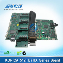 High quality! one set large format printer konica 512i printhead board with 4/8pcs heads