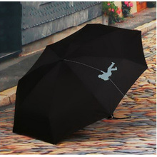 170387/Dual use fold umbrella/Business Rain umbrella Women/men Automatic Sun Umbrellas Anti UV Sunscreen Beach Parasol