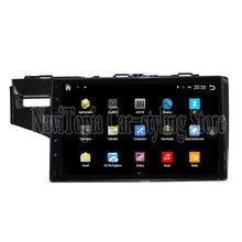 NaviTopia Brand New 10.1inch Quad Core Android 6.0 Car PC For Honda Fit (2014-2016) Car Audio Player With GPS Navigation(China)