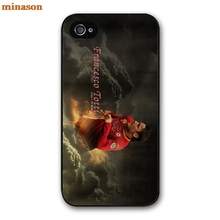 minason Francesco Totti AS Roma Star Cheap Cover case for iphone 4 4s 5 5s 5c 6 6s 7 8 plus samsung galaxy S5 S6 Note 2 3  F0128
