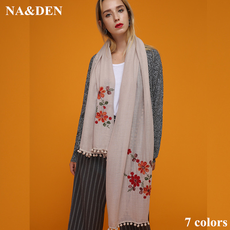 2017 High qality solid color scarf fashion women soft cotton shawl pashimina Muslim hijabs muffler wraps fast ship 10pcs/lot