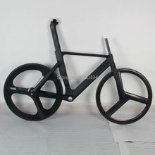 Carbon Time Trial Frame for Out Door Cycling 700C TT frameset+Wheels+fork+seat post +seat post clamp KQ-TT03(China)