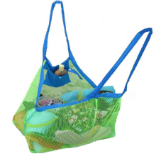 Hot Sell Kids Baby Sand Away Carry Beach Treasures Toys Pouch Tote Mesh Childrens Storage Bag Free Shipping