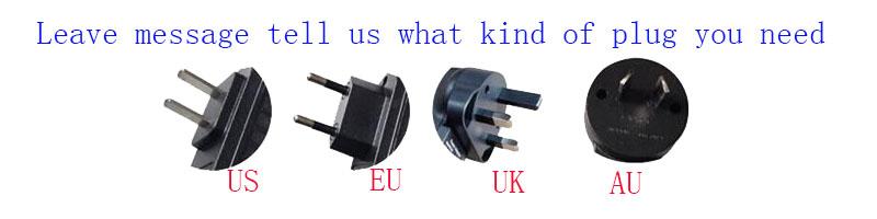 4 kind of powe plug