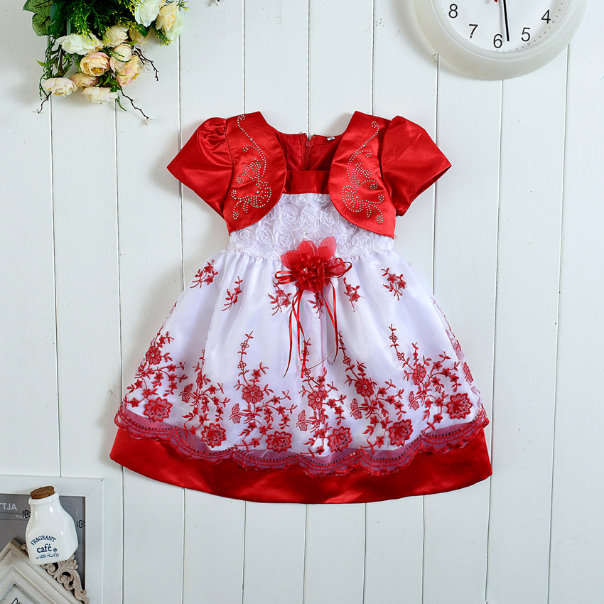 1 to 4Years Baby Girls Clothes Dress Purple Blue Red 10 Colors Christmas Princess Dress Roupas Infantis Menina Sequined dress<br>