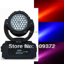 Free Shipping 3Wx36 RGB Moving Head Wash Professional DMX Disco Light Show New Product for 2016