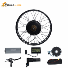 "Passion Ebike DIY Color 48V 1500W Electric Bicycle Fat Bike Conversion Kit 26"" Wheel Motor for 175mm or 190mm Hub Motor"