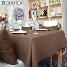 1PCS/Lot Cotton Linen Solid 5 Colors Rectangular Tablecloth Dining Room Home Decoration Table Cloth Cover Christmas Gift(China)