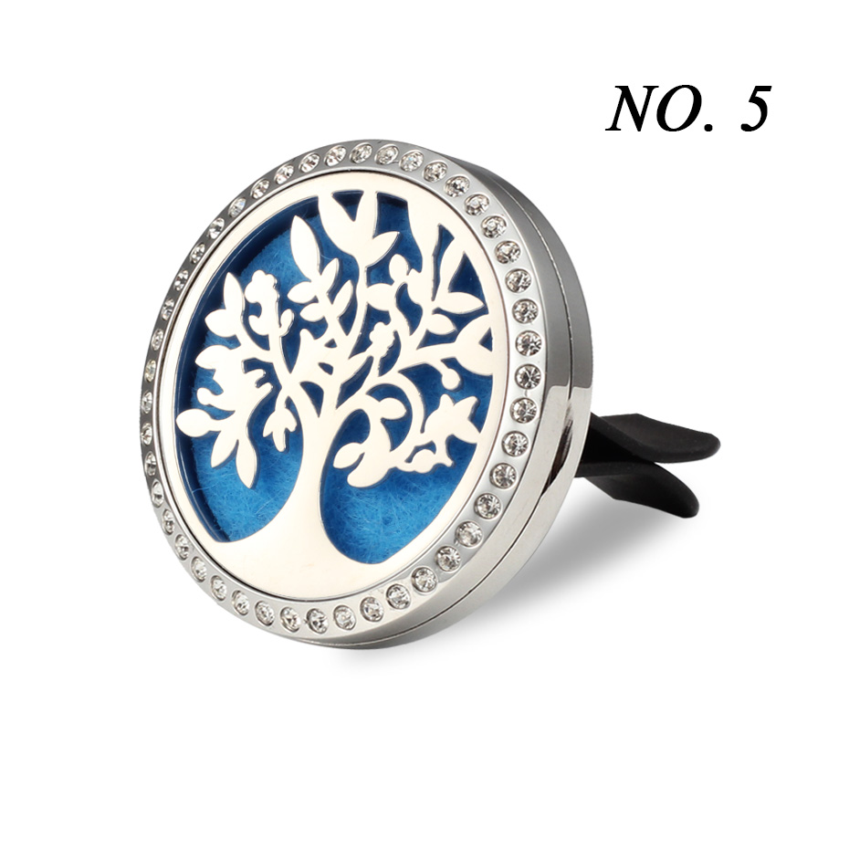 Car Air Freshener Auto outlet Perfume Vent Air freshener in the Car Air Conditioning Clip Magnet Diffuser Solid Perfume- 253