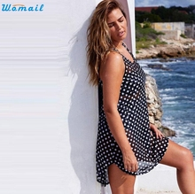 2016 Chiffon Beach Cover Up Dress Sarong Bathing Suit Coverups Beach tunic Cover-Ups Swimwear Swimsuit Pareo Dec09