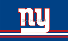 NY Giants Three Lines Flag 3x5 FT 150X90CM NFL Banner 100D Polyester Custom flag603, free shipping(China)