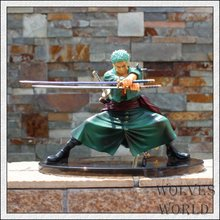 Anime One Piece 12cm Cool Decisive Battle Version One Piece Roronoa Zoro PVC Figure Toy PVC Action Figure Collection Model Toy(China)