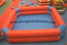 hot sale water sports PVC double layer inflatable pool stronng quality inflatable swimming pool(China)