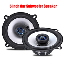 one pair 5 inch Subwoofer Speaker Auto Audio car kits Perfect Sound Automotive sound HIFI Car-styling LB - PS1502T car speaker(China)